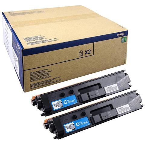TN-329CTWIN, Toner, Ciano, Laser, , HL-L8350CDW, MFC-L8850CDW, ISO / IEC19798