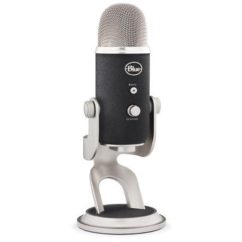 BLUE MICROPHONES Yeti Pro Microfono Professionale Adattivo da Studio Usb-Xlr per Windows e Mac