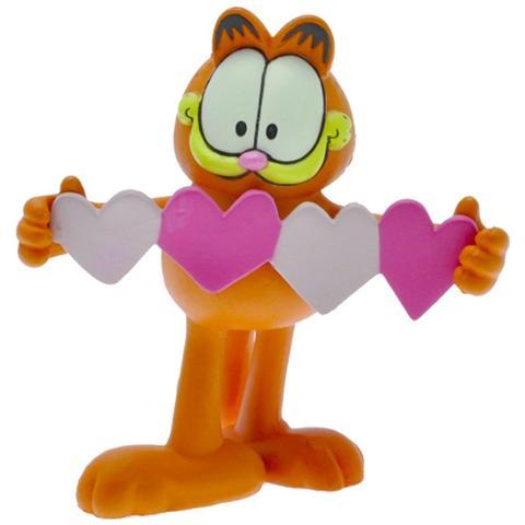Plastoy 66055 - Garfield - Portachiavi Cuori