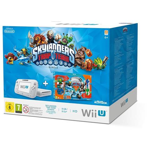 Image of Console Wii U Skylanders Trap Team Basic Pack Wi-Fi Bianco - Europa