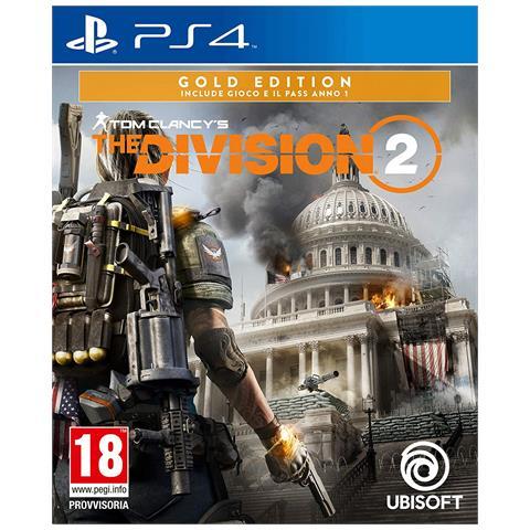 UBISOFT [ Ricondizionato GOLD] PS4 - Tom Clancy's The Division 2 Gold Edition