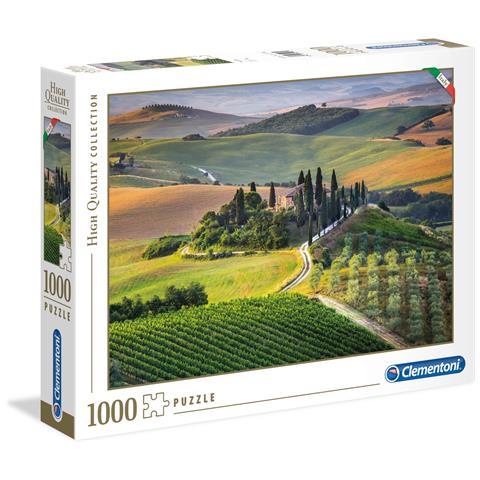 CLEMENTONI CLM39456 Puzzle da 1000 Pezzi - Tuscany