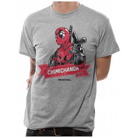 CID Deadpool - Chimichanga Point (T-Shirt Unisex Tg. Xl)