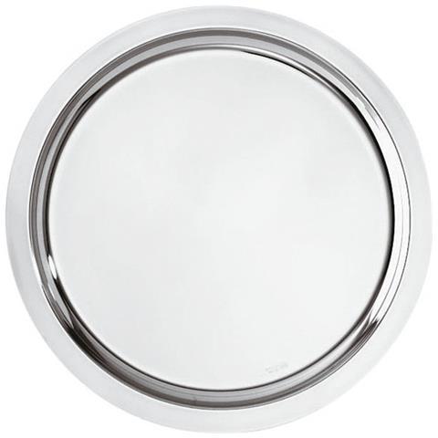 Vassoio Tondo Cm 40 Elite Inox Argentato