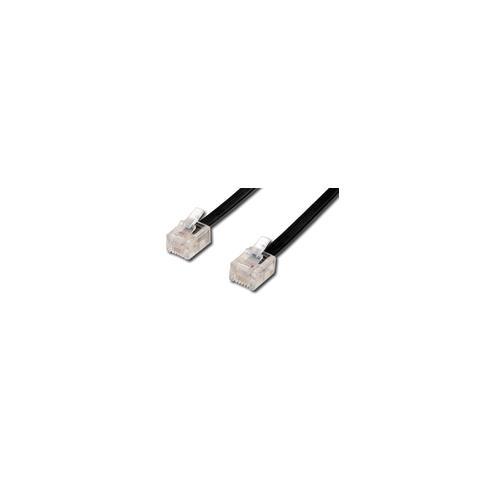 Microconnect 6P4C / RJ11, 3m, RJ-11, RJ-11
