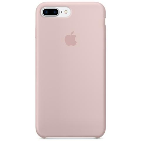 APPLE Cover in Silicone per iPhone 7 Plus - Rosa Sabbia
