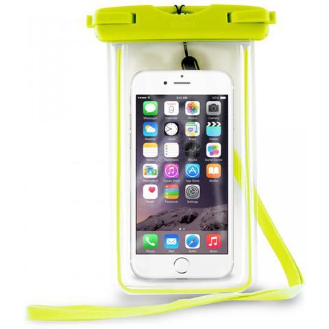 PURO Custodia Impermeabile IPX8 Universale per Smartphone fino a 5.7'' - Verde