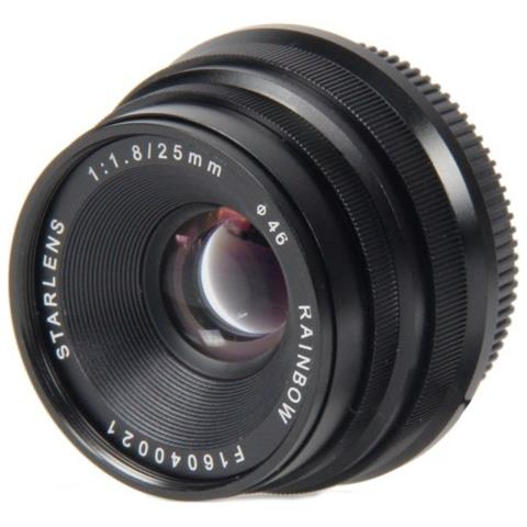 Starlens 25mm F1.8 E-mount Noir
