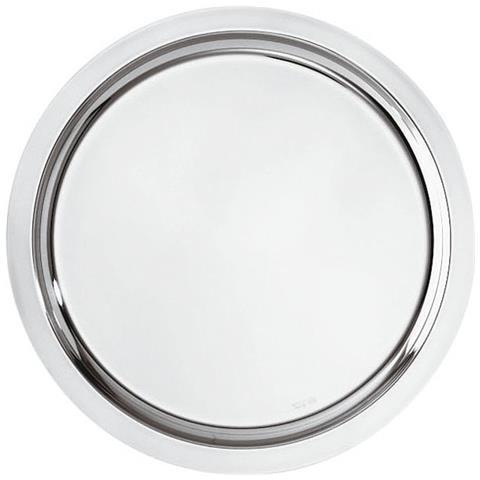 Vassoio Tondo Cm 30 Elite Inox Argentato