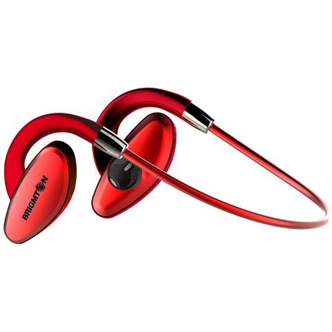 BRIGMTON BML-07-R, Stereofonico, Rosso, Digitale, Bluetooth, Multi-key, Volume +, Volume -, 10m