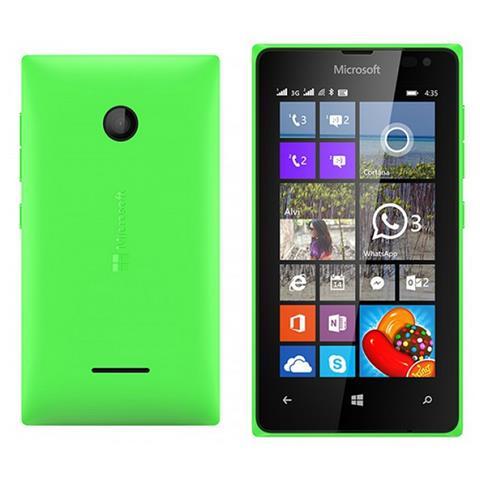 NOKIA Copri batteria ricambio per Lumia 435 - Verde