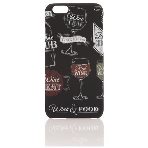 AIINO Custodia per iPhone 6/6s Collezione BlackBoard - Wine
