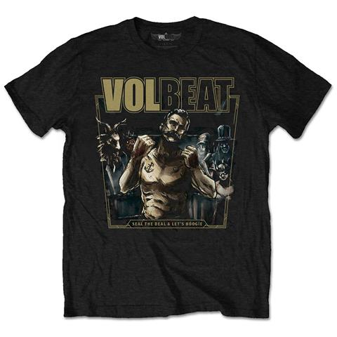 ROCK OFF Volbeat - Seal The Deal (T-Shirt Unisex Tg. M)
