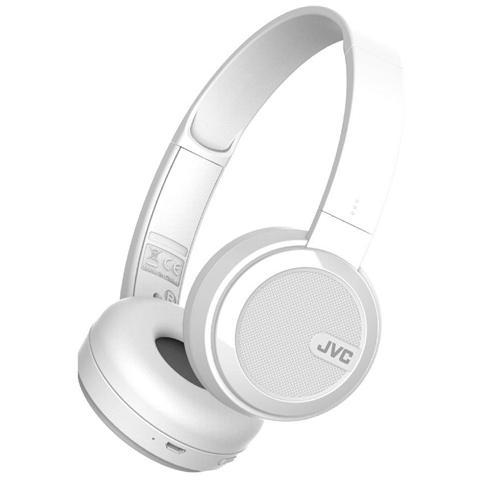 JVC Cuffie Bluetooth HA-S40BT-W colore Bianco