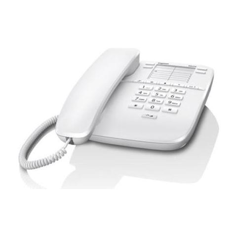 GIGASET DA310 a filo con Tasti Grandi Voip / ISDN - Bianco