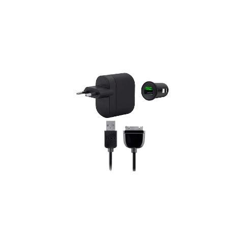 BELKIN Kit Caricabatteria Rete + Auto per Galaxy Tab - Nero
