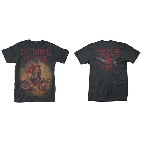 PHM Cannibal Corpse - Chainsaw (T-Shirt Unisex Tg. 2XL)