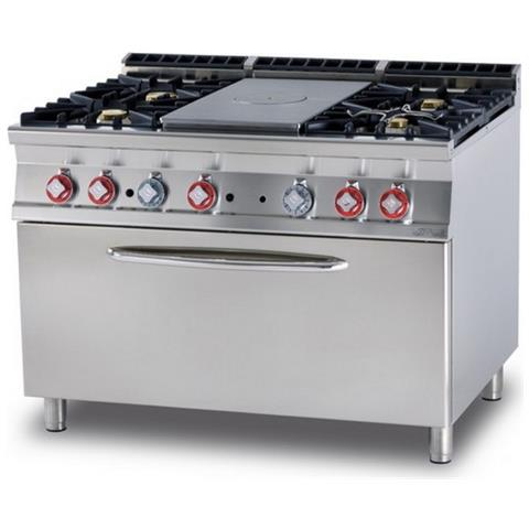 Cucina A Gas Professionale Afp / Tpf4-912ge