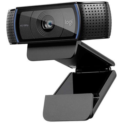 C920 Hd Pro Webcam Per Amazon, Videochiamata Full Hd 1080p / 30fps, Audio Stereo ? chiaro,...