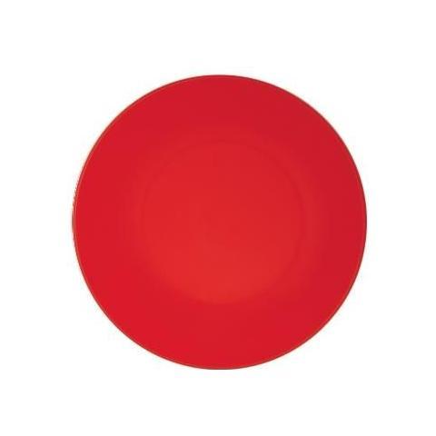 EXCELSA Piatto Fondo Plastica Rosso