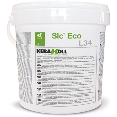 Colla Slc Eco L34 Neutra Kerakoll Per La Posa Di Parquet 10kg Bicomponente
