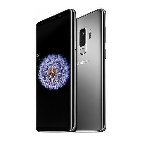 "SAMSUNG Galaxy S9+ Grigio 256 GB 4G / LTE Display 6.2"" Full HD+ Fotocamera 12 Mpx Android Italia"