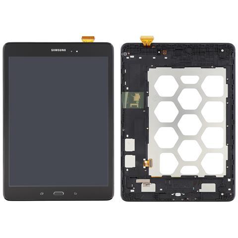 Image of Lcd Touch Display Schermo Originale Nero Per Samsung Galaxy Tab A 9.7 Sm-t555