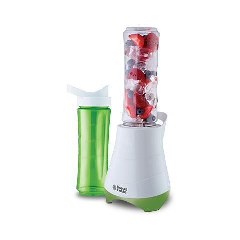Frullatore Mix & Go 21350-56 Lame Tritaghiaccio 2 Bottiglie da 600 ml Funzionamento a Pressione 300 Watt