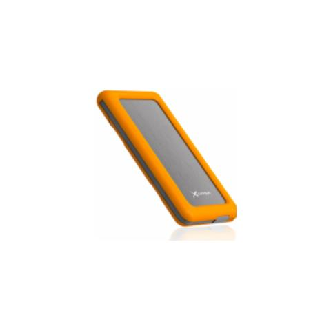 XLAYER 211526, Polimeri di litio (LiPo) , USB, Grigio, Arancione, Micro-USB, Smartphone, Tablet, Micro-USB