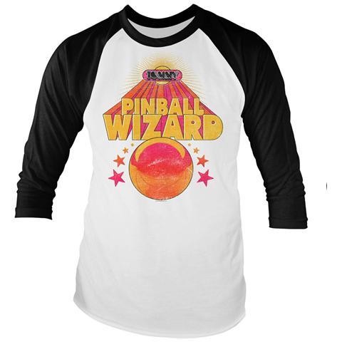 PHM Who (The) - Pinball Wizard (Baseball Shirt Unisex Tg. S)
