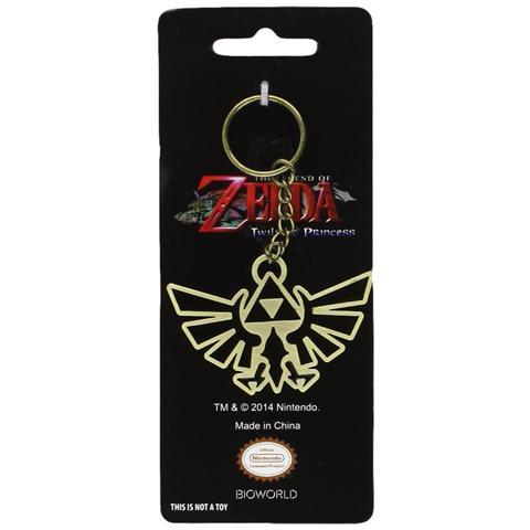 BIOWORLD Nintendo - Zelda Bird Enameled Metal Twilight Princess (Portachiavi)