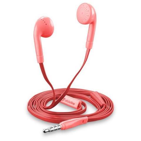 CELLULAR LINE Auricolare 3.5 Conico Rosa - Cellular Line Rosa