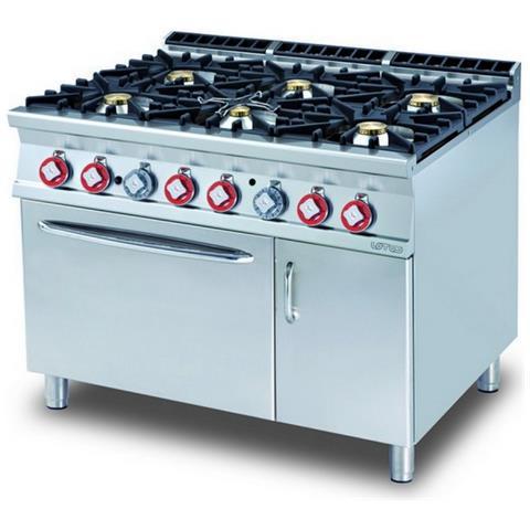Cucina A Gas Professionale Afp / Cf6-912gv