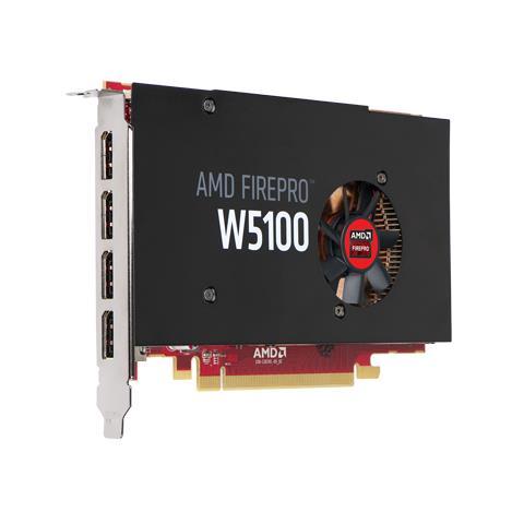 Image of 490-BCGG FirePro W5100 4GB GDDR5 scheda video