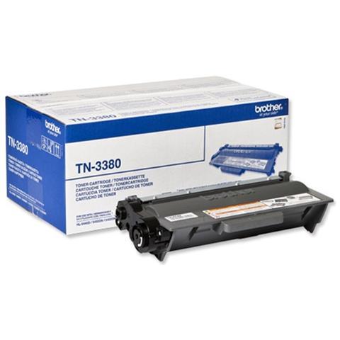TN-3380P Toner laser 8000pagine Nero cartuccia toner e laser
