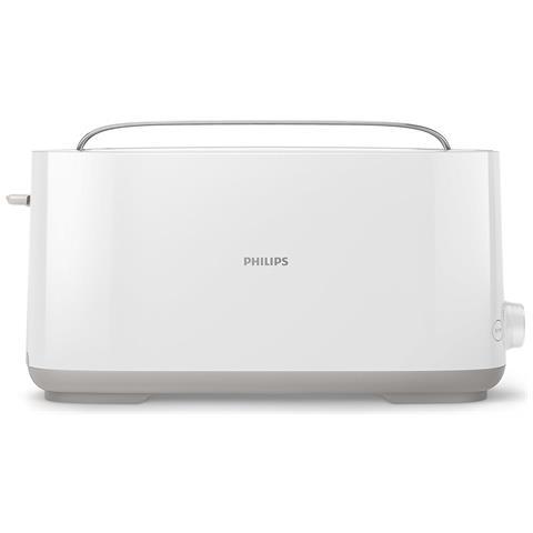 Tostapane HD2590/00 con Mono Fessura Colore Bianco