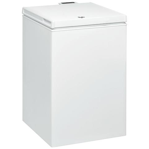 WHIRLPOOL Congelatore Orizzontale WHS1021 Classe A+ Capacità Lorda / Netta 102/100 Litri Colore Bianco