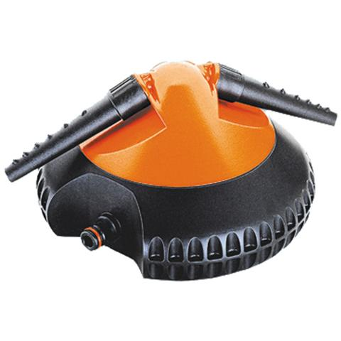 CLABER Irrigatore rotante a 2 braccia in Abs con ugelli orientabili Claber
