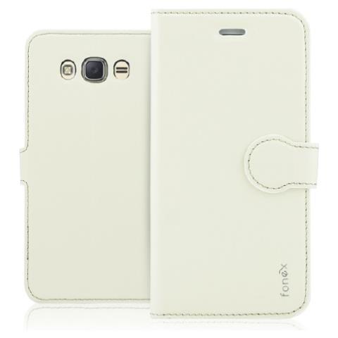 FONEX Custodia per Samsung Galaxy J5 (6) Colore Sabbia Bianca