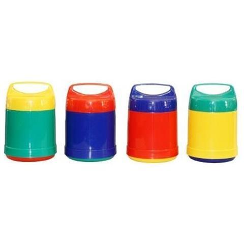 Portavivande Isolante Da 500 Multicolore 0.5 Lt
