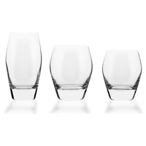 Servizio Di Bicchieri Basso 38 Pezzi Dalla Forma Lineare - Michelle