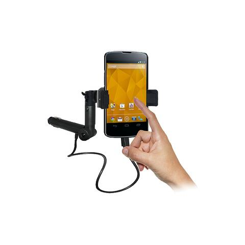 Amzer AMZ95400 Auto Active holder Nero supporto per personal communication