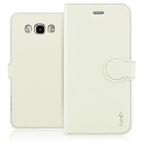 FONEX Custodia per Samsung Galaxy J7 (6) Colore Sabbia Bianca