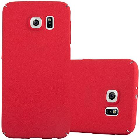 Cadorabo Custodia per Apple iPhone 6 / iPhone 6S in Frost Rosso