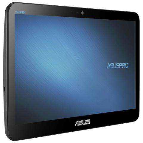 Image of All-In-One A4110-BD046D Monitor 15.6'' HD Touch Screen Intel Celeron N4000 Dual Core 1.1 GHz Ram 8GB SSD 128GB 4xUSB 3.1 Free Dos