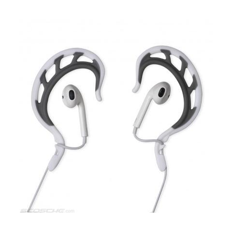 SCOSCHE clipITS Universal ear-bud sports converter - bianco