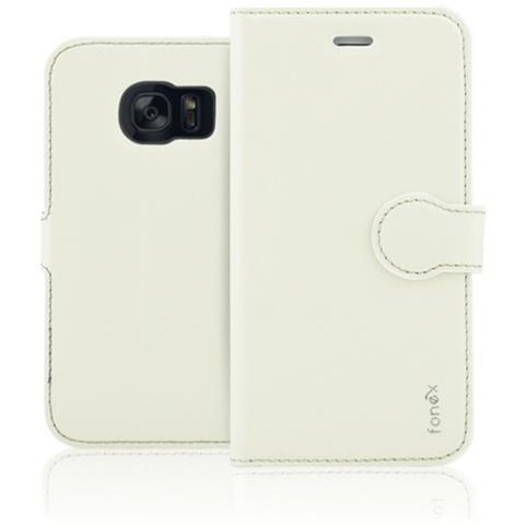 FONEX Custodia per Samsung Galaxy S7 Edge Colore Sabbia Bianca