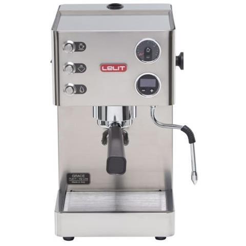 Macchia da Caffè Espresso Manuale Potenza 1000 Watt Capacità 2,7 Litri