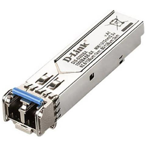 Image of 1-P MINI-GBIC SFP TO 1000BASESX MULTI-MODE FIBER TRANSCEIVER 2KM IN