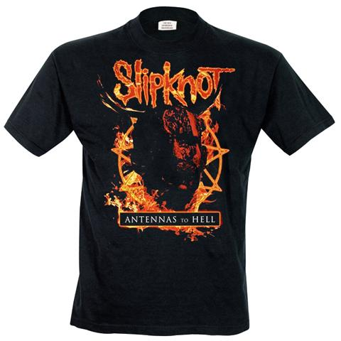 Rock Off Retail Limited Slipknot - Antennas To Hell (T-Shirt Unisex Tg. S)